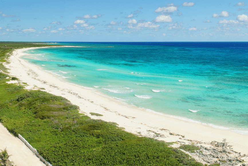 Punta Sur Ecological Beach Park, Cozumel one of the best beaches in cozumel