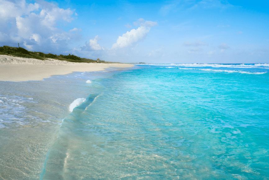 San Martin Beach (Playa San Martin) one of the best beaches in cozumel