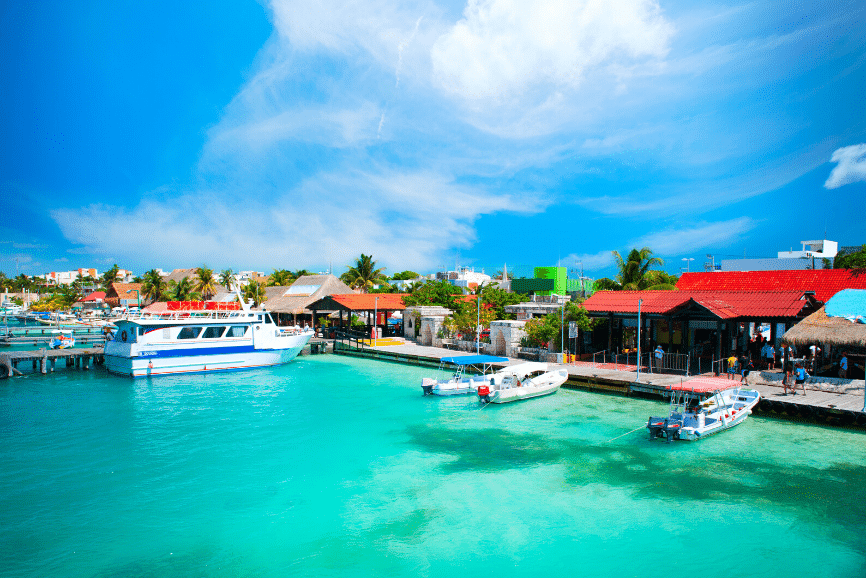 A Beautiful Day in Isla Mujeres, how to get to isla mujeres