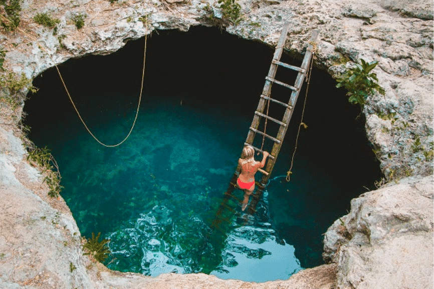 Cenote Calavera, Yucatan one of the Best cenotes in Yucatan