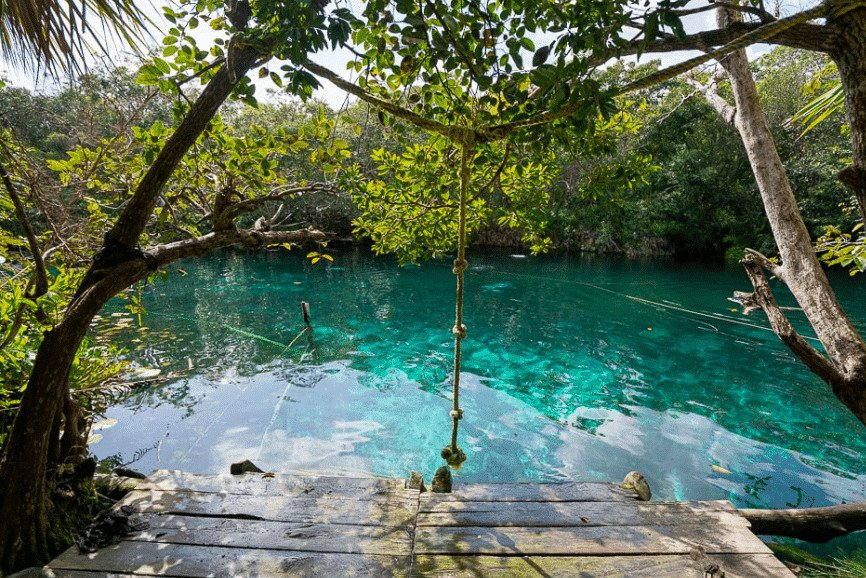 Cenote Aktun-Ha (aka Cenote Carwash), Yucatan. Best Cenotes In Tulum.