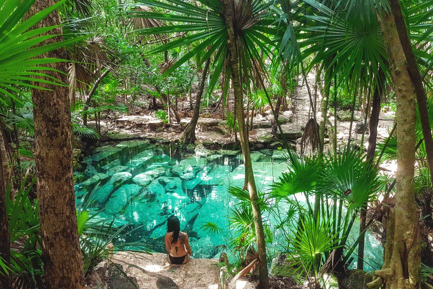 Cenote Azul, Yucatan