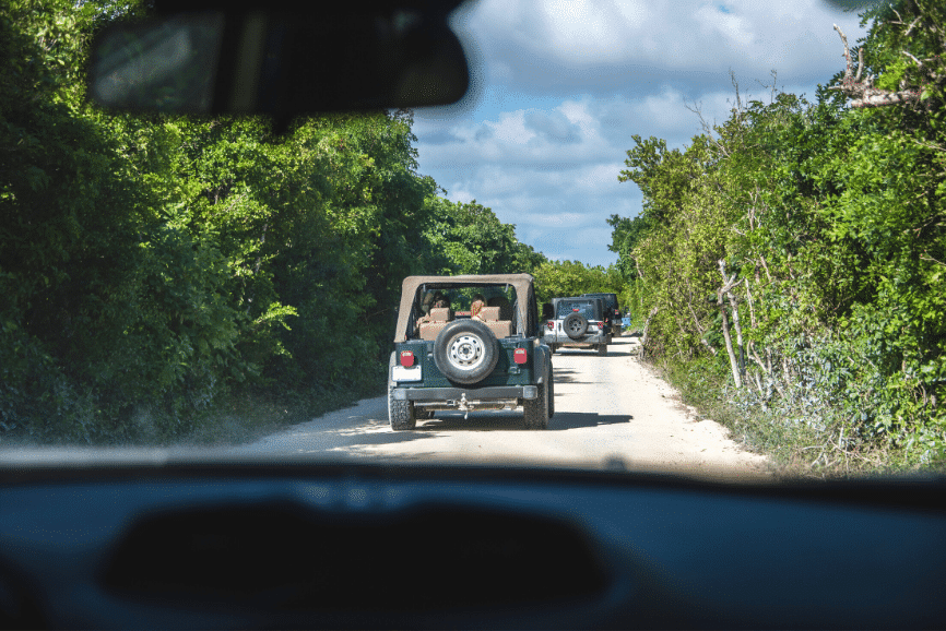 Jeep Tour in Cozumel. Cozumel attractions