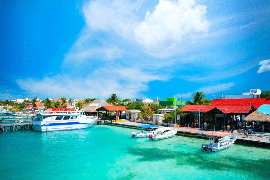 Port Of Isla Mujeres