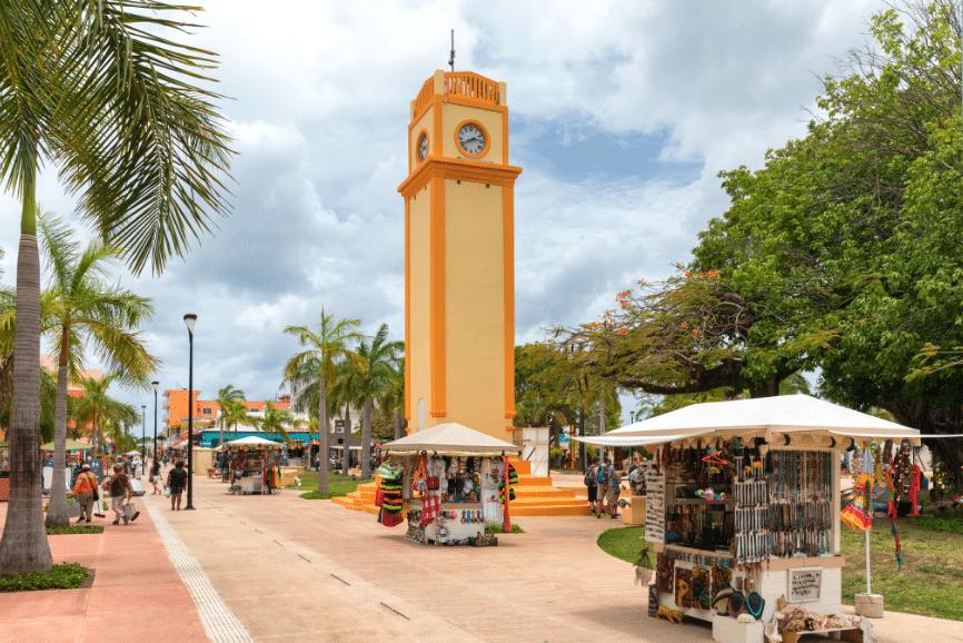 San Miguel De Cozumel Town Center