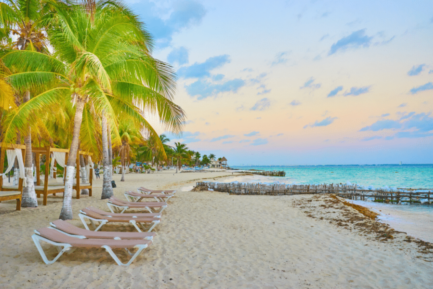 Beaches Galore In Isla Mujeres
