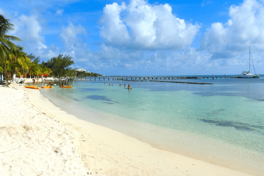 Isla Mujeres Beach, one of the best things to do in isla mujeres. What to do in isla mujeres.