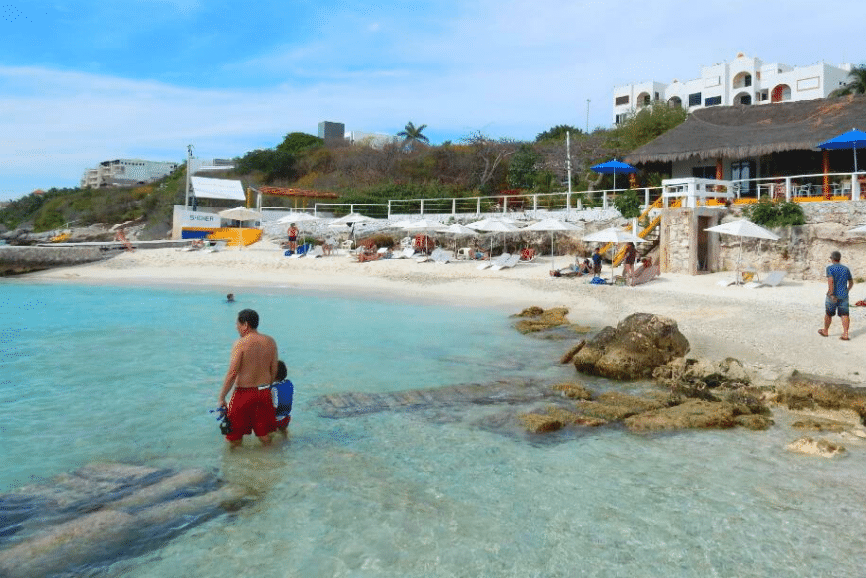 Garrafon De Castilla, one of the best things to do in isla mujeres