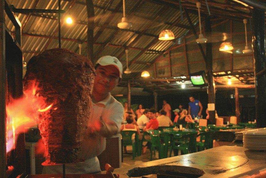 Los Otates. One Of The Best Restaurants In Cozumel