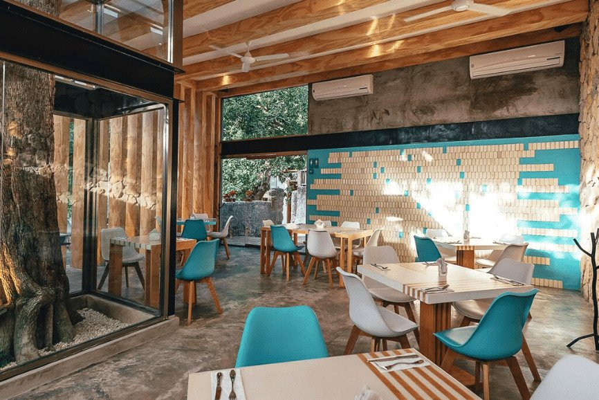 Azul Madera. One Of The Best Restaurants In Cozumel