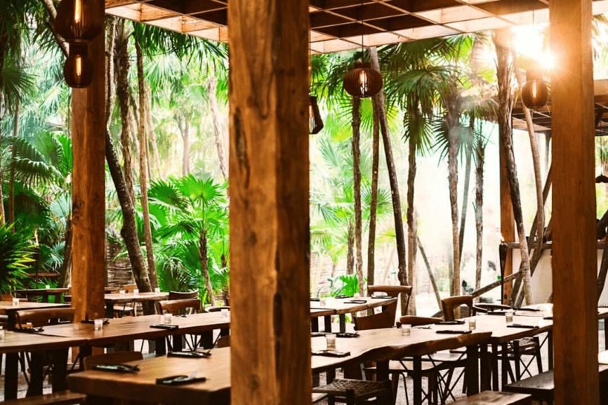 Arca. Best Beach Restaurant in Tulum.