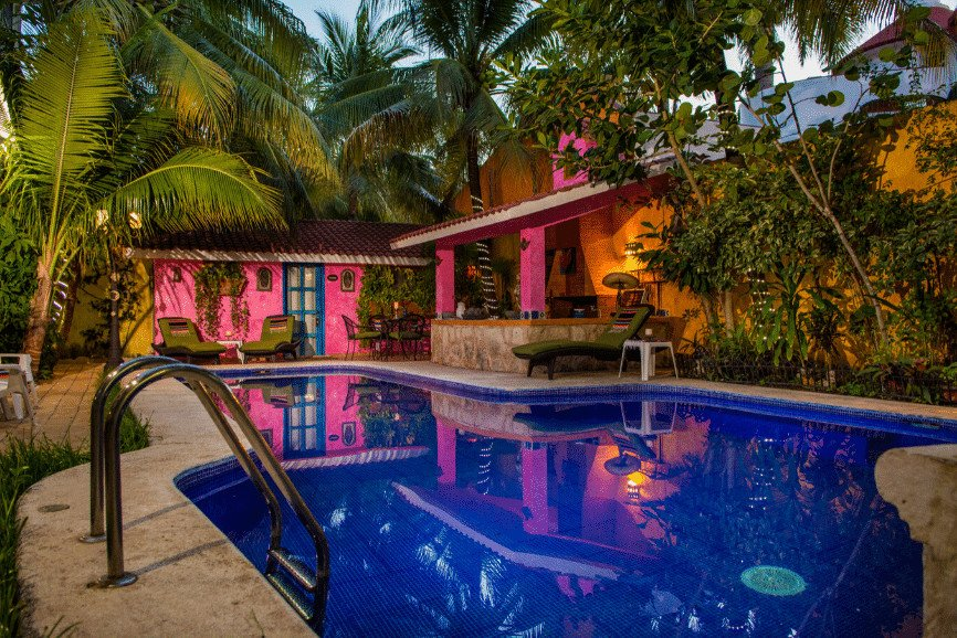 Hacienda Boutique Mi Casa Tu Casa B&B. One Of The Best Hotels And Resorts In Cozumel