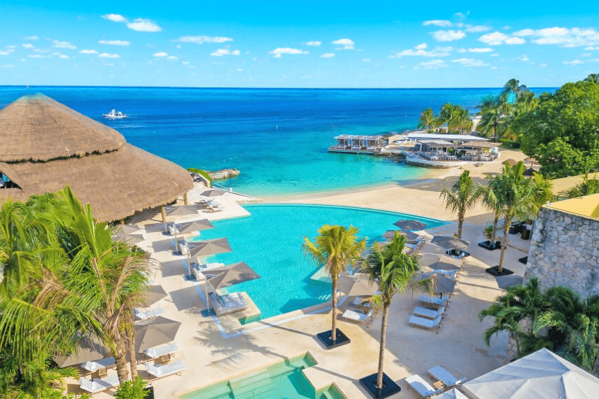 Presidente Inter-Continental Cozumel Resort and Spa. One of the best hotels and resorts in cozumel