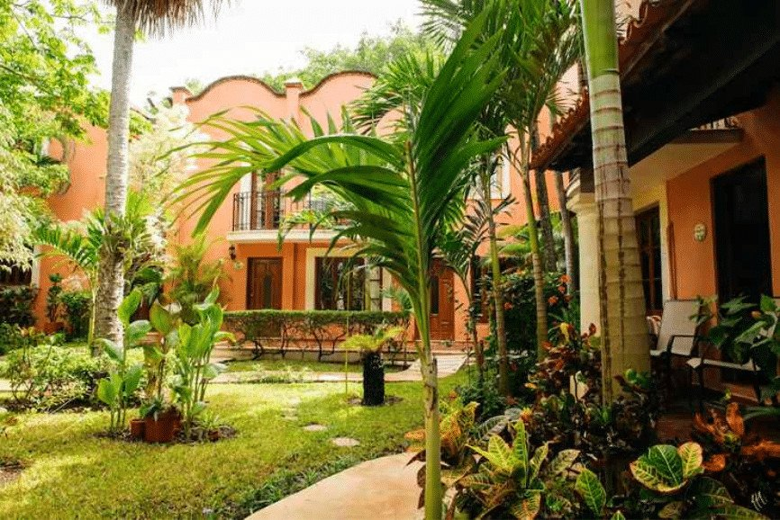 Hacienda San Miguel Hotel And Suites. One Of The Best Hotels And Resorts In Cozumel