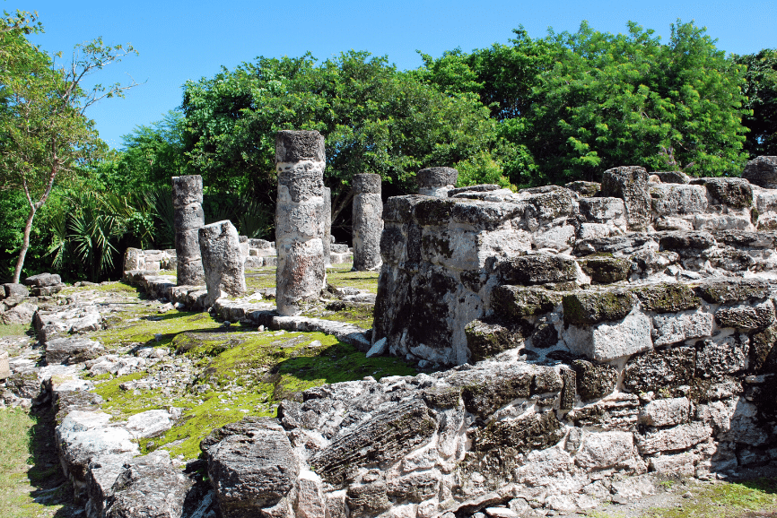 San Gervasio Ruins. What to do in Cozumel
