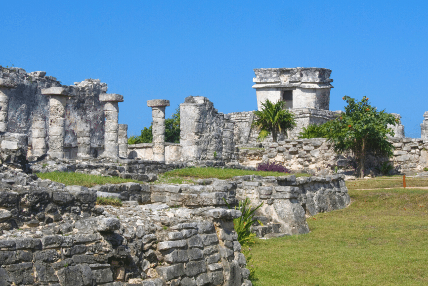 Tulum Ruins, Mexico, The Tulum Mayan Ruins