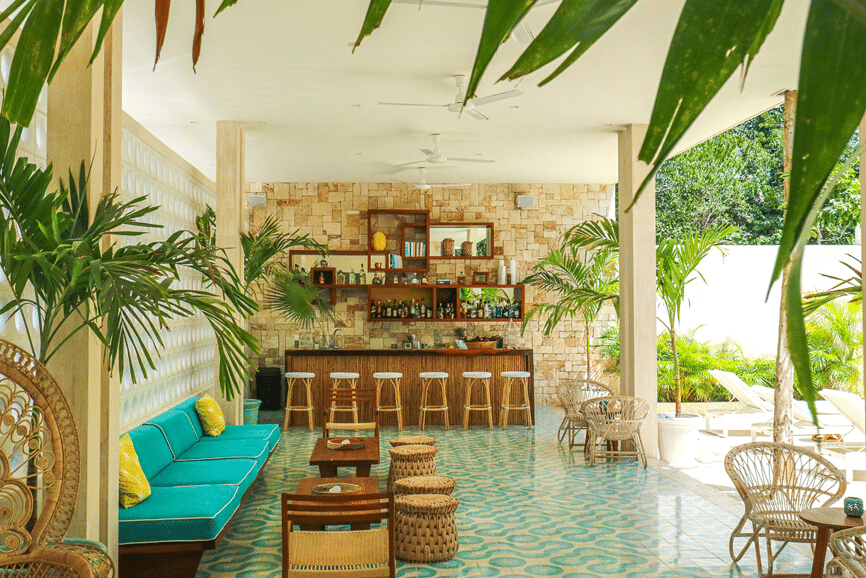 Hotel Tiki Tiki Tulum, one of the best hotels in tulum mexico