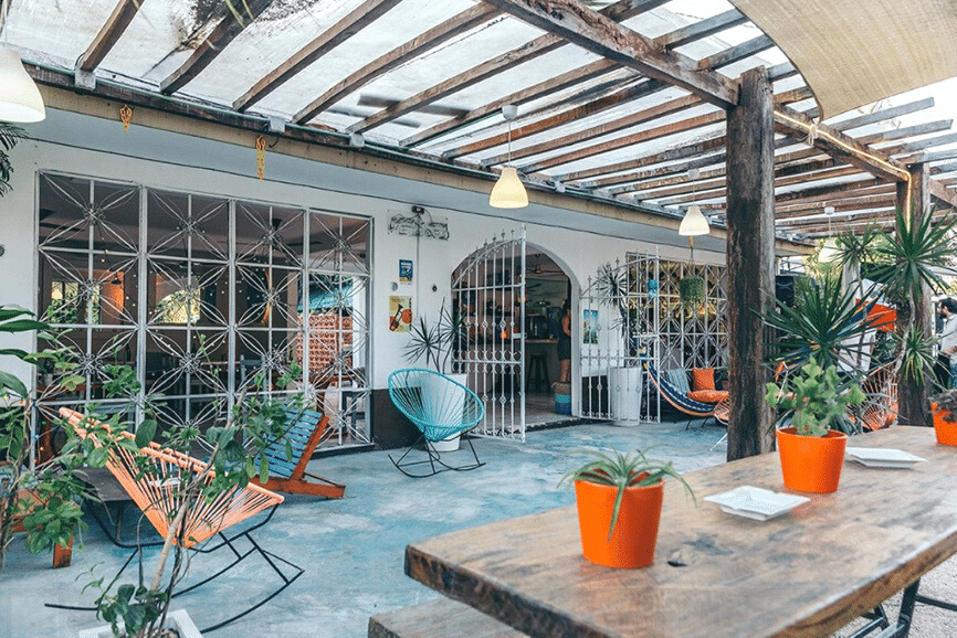 Teetotum Hotel, one of the best hotels in tulum mexico