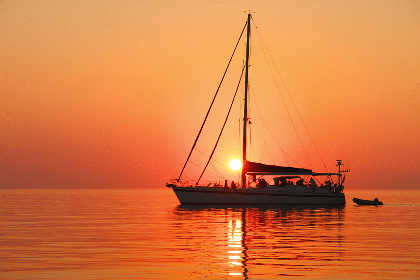 Sunset Sailing in Cancun, one of the top things to do in cancun