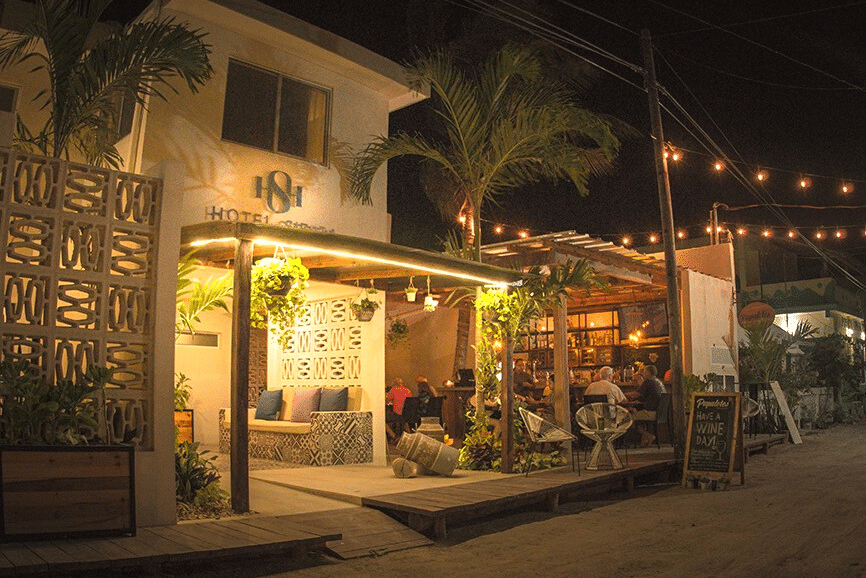 Hotel Siesta Holbox. One of the best hotels in holbox