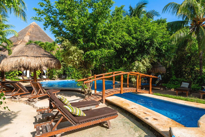 Villas HM Paraiso del Mar. One of the best hotels in holbox