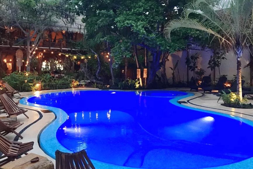 Hotel El Pueblito. One of the best hotels in holbox