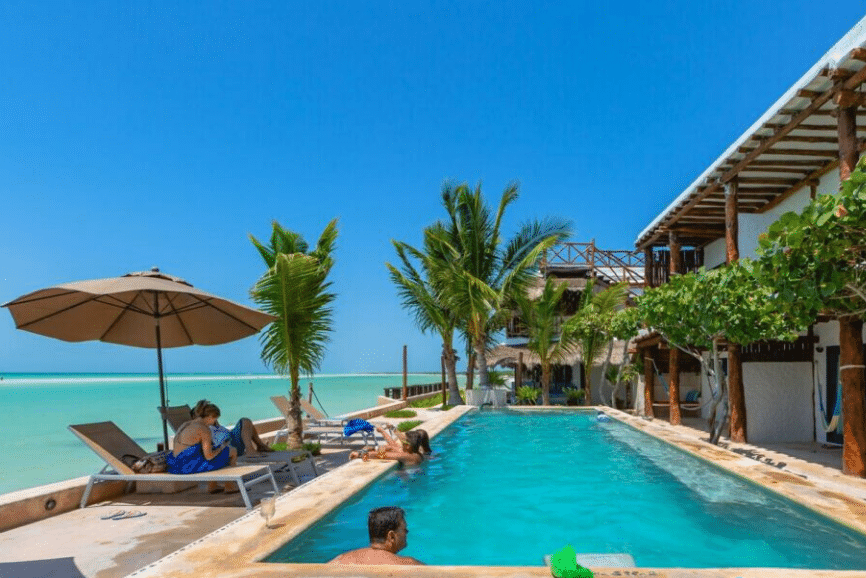 Las Nubes de Holbox. One of the best hotels in holbox