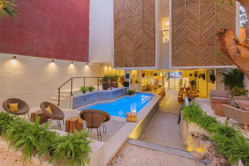 OOostel Smart Hostel, One Of The Best Hotels In Tulum Mexico