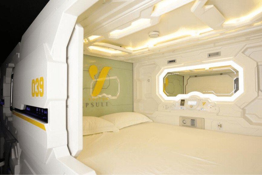 The Yellow Capsule. One Of The Best Places To Stay In Cancun.