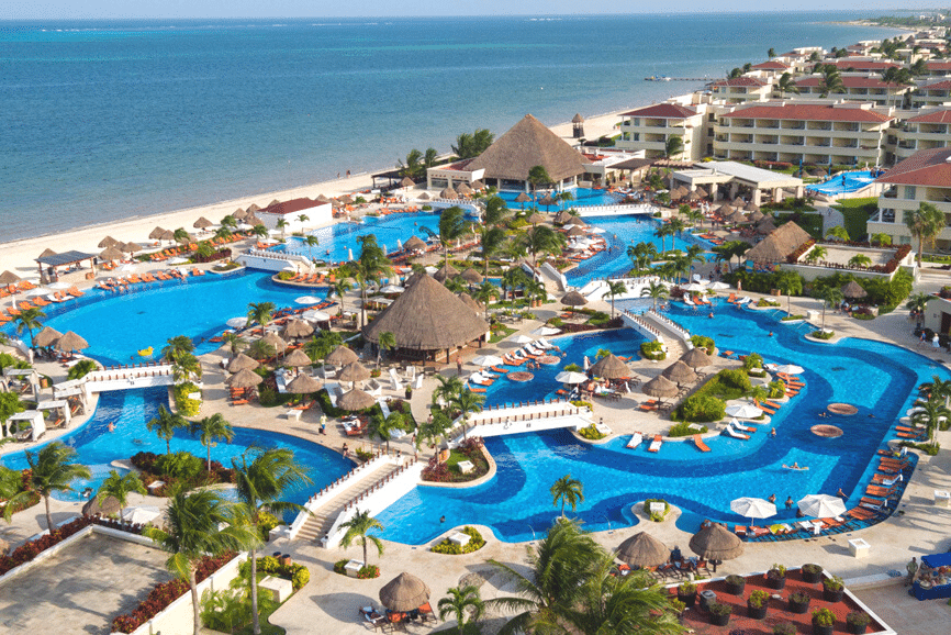 The Grand at Moon Palace. One of the best places to stay in cancun.
