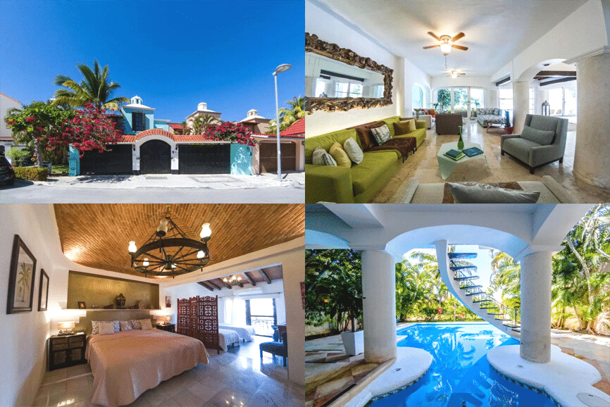 La Villa du Golf a Cancún. One of the best places to stay in cancun.