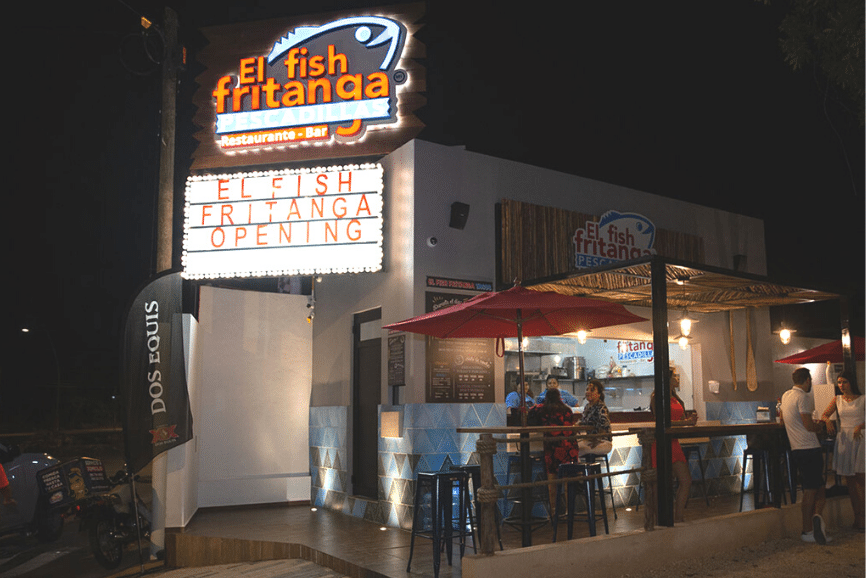 El Fish Fritanga, one of the best restaurants in cancun