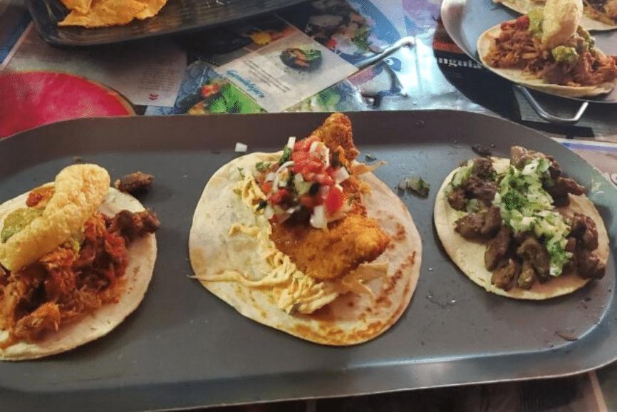 Los Tacos de Humo. One of the best isla mujeres restaurants
