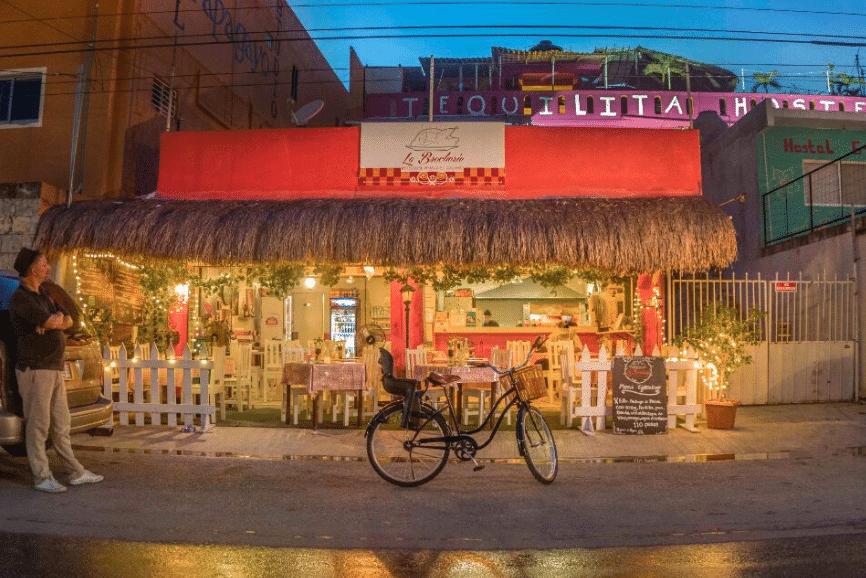 La Brocherie, one of the best restaurants in playa del carmen