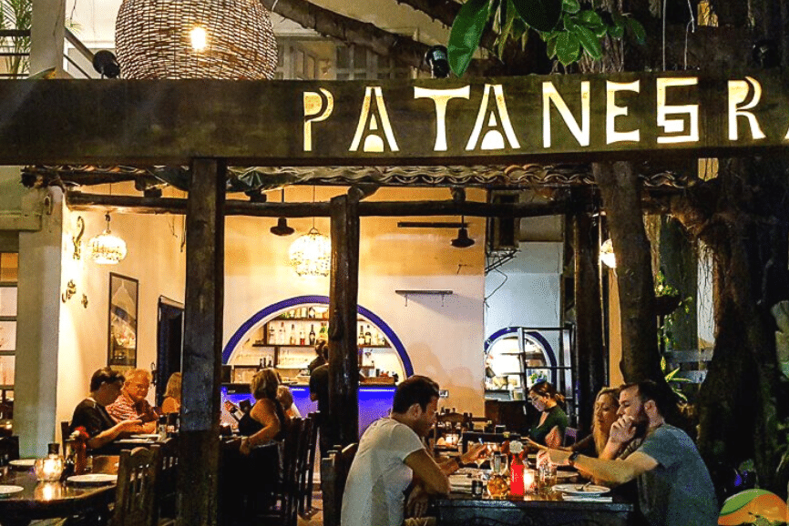 Restaurante Patanegra, one of the best restaurants in playa del carmen