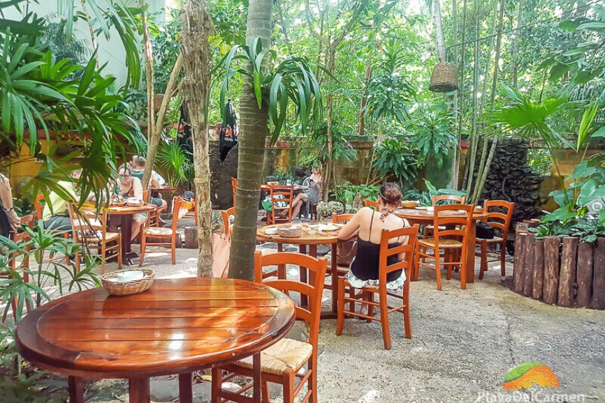 La Cueva del Chango, one of the best restaurants in playa del carmen