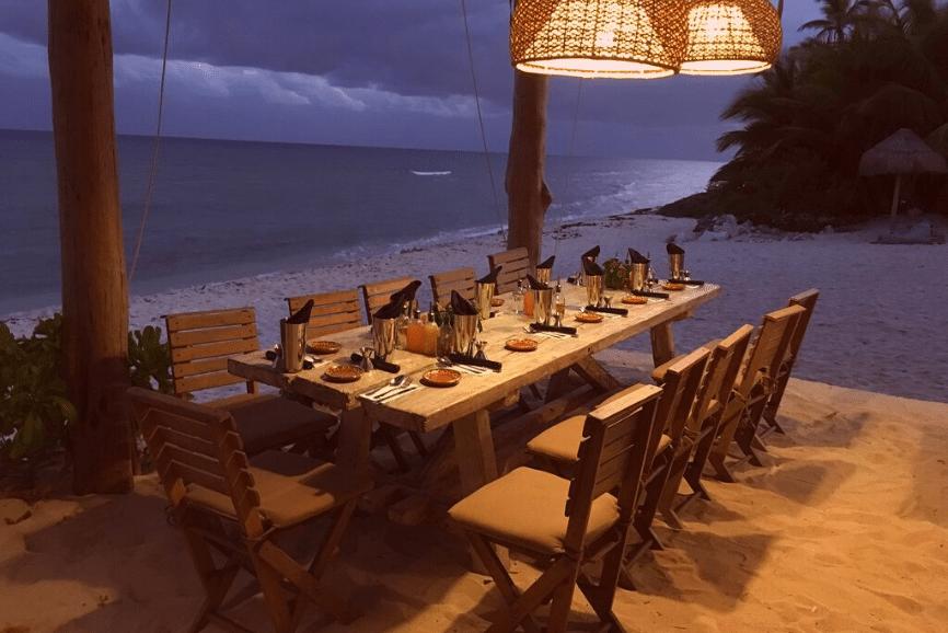 The Traveler's Table, one of the best restaurants in playa del carmen