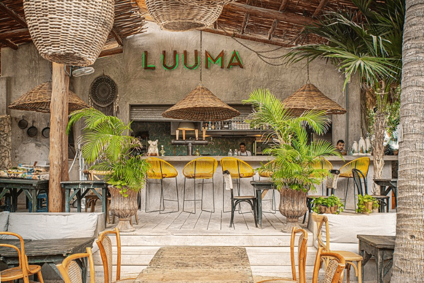 Luuma, one of the best restaurants in Holbox mexico