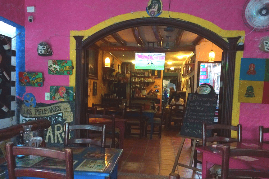 Los Peleones Holbox, one of the best restaurants in Holbox mexico