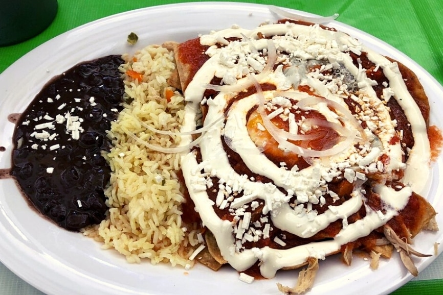 Los Otates. Los Tacotales. One of the best restaurants in cozumel