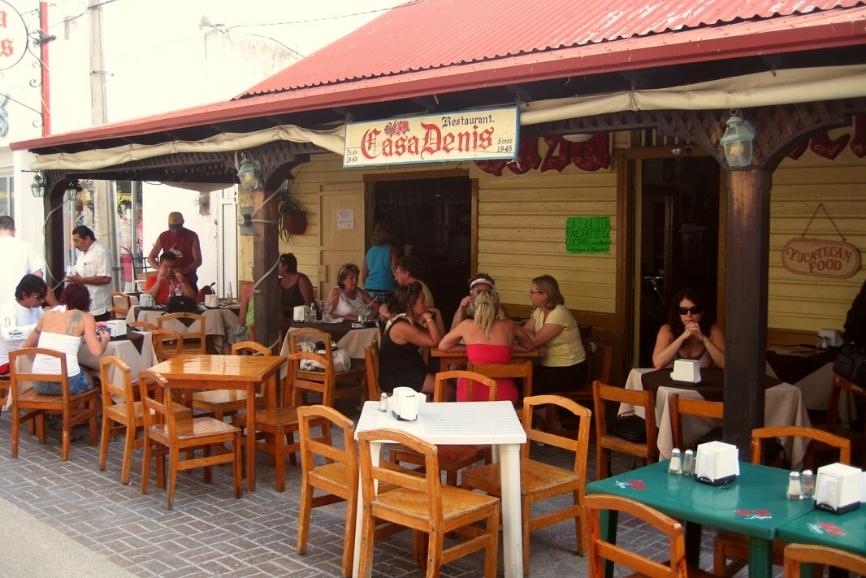 Casa Denis. One of the best restaurants in cozumel